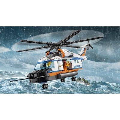 Lego Lego City Kustwacht Zware Reddingshelikopter 60166