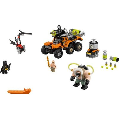 Lego Lego Batman the Movie Bane Giftruckaanval 70914