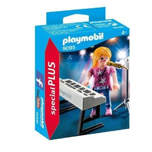 Playmobil Special Plus Zangeres met Keyboard 9095