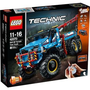 Lego Technic All Terrain Sleepwagen 42070