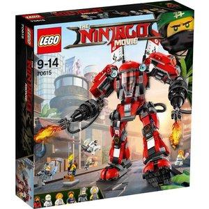 Lego Ninjago the Movie Vuurmecha 70615
