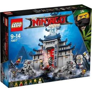 Lego Ninjago the Movie Tempel van het Ultieme Wapen 70617