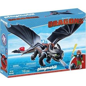 Playmobil Dragons Hikkie met Tandloos 9246