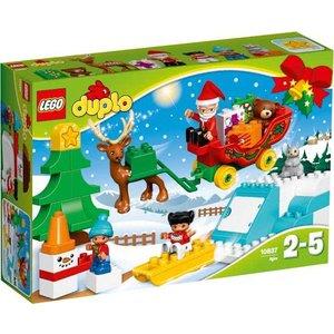 Lego Duplo Wintervakantie van de Kerstman 10837