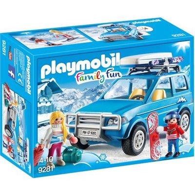 Playmobil Playmobil Family Fun 4X4 met Dakkoffer 9281