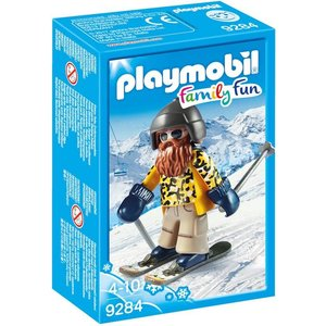 Playmobil Family Fun Skieër op Snowblades 9284