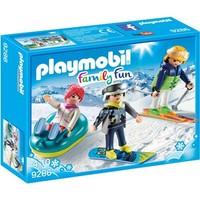 Playmobil Family Fun Wintersporters 9286