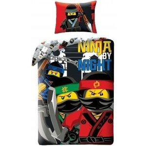 Lego Ninjago the Movie Ninja by Night Dekbedovertrek 700173