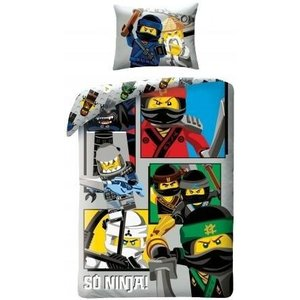 Lego Ninjago the Movie So Ninja Dekbedovertrek 700175
