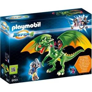 Playmobil Super4 Koningsland Draak met Alex 9001