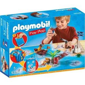 Playmobil Pirates Piraten Speel Plattegrond 9328