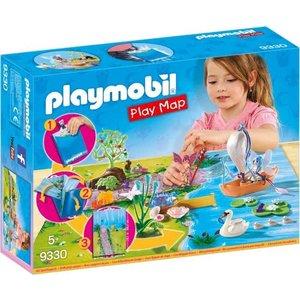 Playmobil Fairies Feeën met Speel Plattegrond 9330