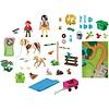 Playmobil Playmobil Country Ponyrijders met Speel Plattegrond 9331
