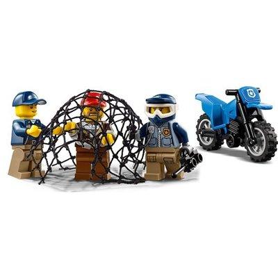Lego Lego City Modderweg Achtervolging 60172