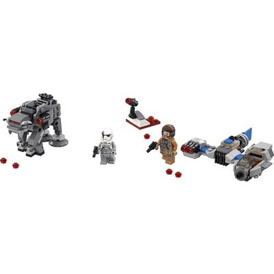 Lego Lego Star Wars Ski Speeder vs First Order Walker Microfighter 75195