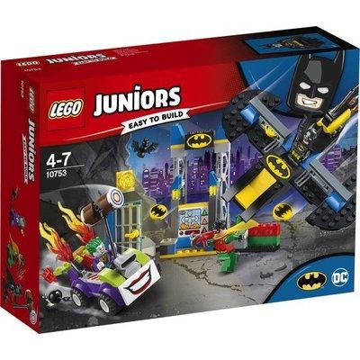 Lego Lego Juniors Joker Batcave 10753