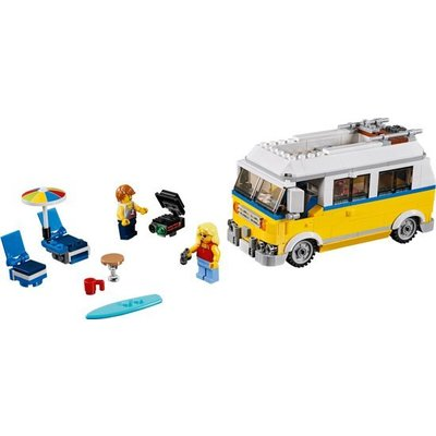 Lego Lego Creator Zonnig Surfbusje 31079
