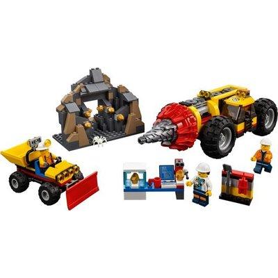Lego City Zware Mijnbouwboor 60186