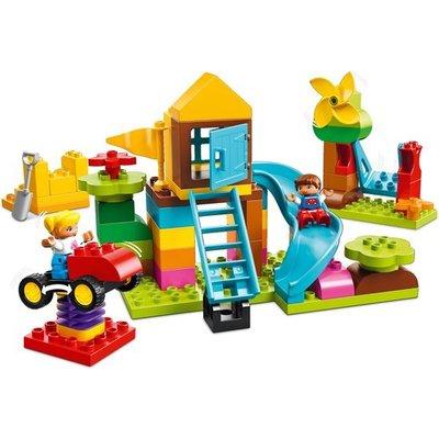 Lego Duplo Lego Duplo Grote Speeltuin Opbergdoos 10864
