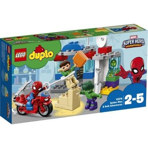 Lego Duplo Super Heroes Spider Man en Hulk Avonturen 10876