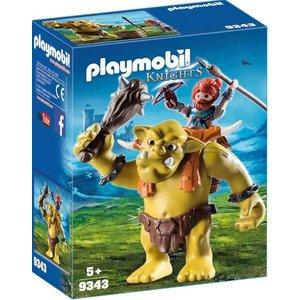 Playmobil Knights Reuzetrol met Dwergsoldaat 9343