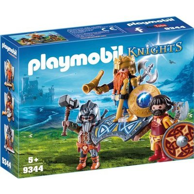 Playmobil Playmobil Knights Dwergenkoning 9344