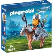 Playmobil Playmobil Knights Dwerg met Gevechtspony 9345