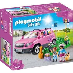 Playmobil City Life Familiewagen met Parkeerplaats 9404