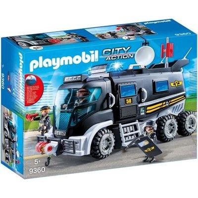 Playmobil Playmobil City Action SIE-Truck met Licht en Geluid 9360