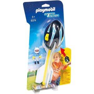 Playmobil Sports & Action Piloot met Werpbal 9374