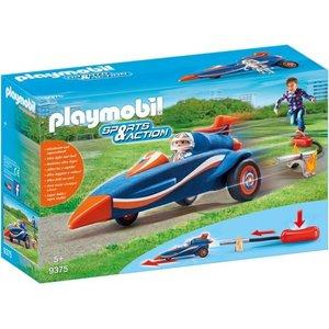 Playmobil Sports & Action Piloot met Autoraket 9375