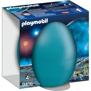 Playmobil Top Agents Ruimte Agent met Robot Ei 9416
