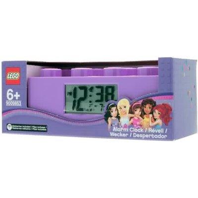 Lego Lego Friends Wekker Paars