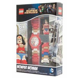 Lego Super Heroes Wonder Woman Horloge