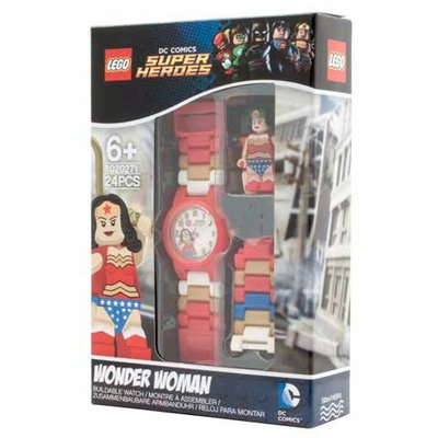 Lego Lego Super Heroes Wonder Woman Horloge