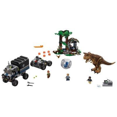 Lego Lego Jurassic World Gyrobolontsnapping van Carnotaurus 75929