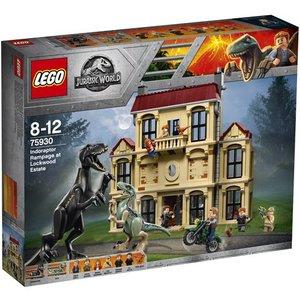 Lego Jurassic World Intoraptorchaos bij Lockwood Estate 75930