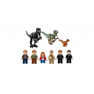 Lego Lego Jurassic World Intoraptorchaos bij Lockwood Estate 75930
