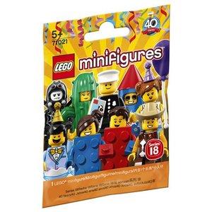 Lego Minifigures Feestje! Serie 18 71021
