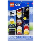 Lego Lego City Brandweerman Horloge