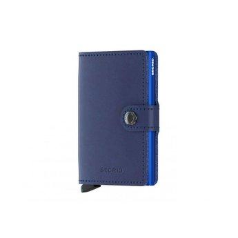 Secrid Mini-portefeuille Portemonnee Marine Originale - Bleu kDxEVB