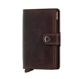 Secrid Mini Wallet vintage chocolate