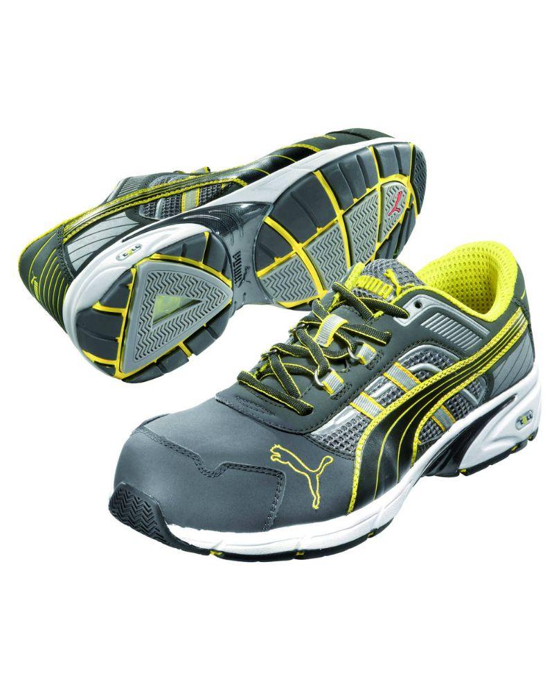 Chaussures Puma De Sécurité De Sécurité Basse S1p Rythme Hro Mouvement Sra Protection 64.259.0, 44 Eu
