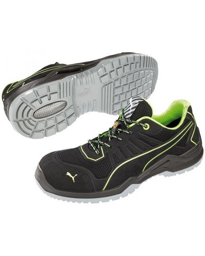 Puma Safety Fuse TC Green Low S1P SRC