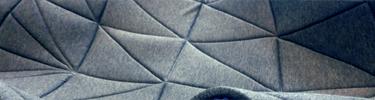 Geïnspireerd op de Japanse origami papiervouwkunst