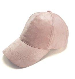 SUEDE CAP LICHT ROZE
