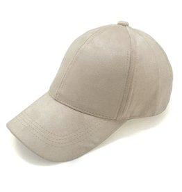 SUEDE CAP BEIGE