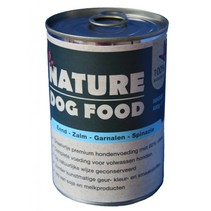 Nature Dogfood Eend, zalm & garnalen