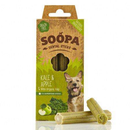 Soopa  Soopa dental sticks van boerenkool en appel