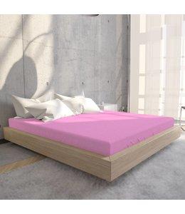 Hoeslaken Jersey 135 gr Roze